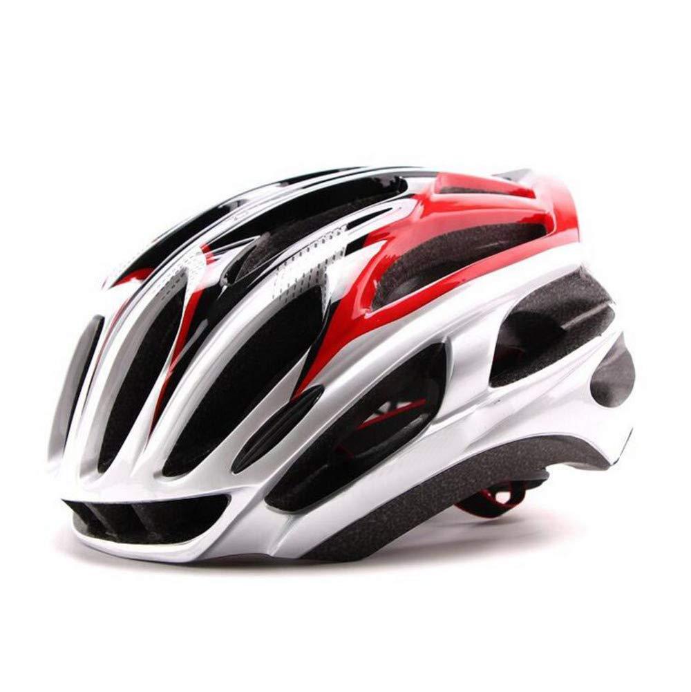 YXIAOL Road Mountainbike Fahrradhelm Ultralight Integrierter Fahrradhelm