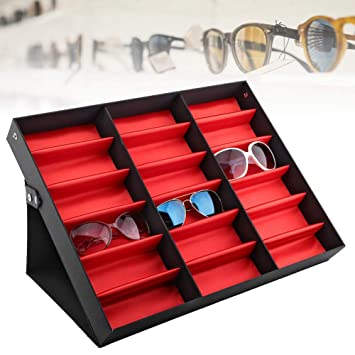 TMISHION Caja para Relojes - Gafas de Sol Bandeja de ...