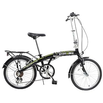 Stowabike 50,8 cm plegable bicicleta plegable compacta Pro ciudad 6 velocidades Shimano engranajes-