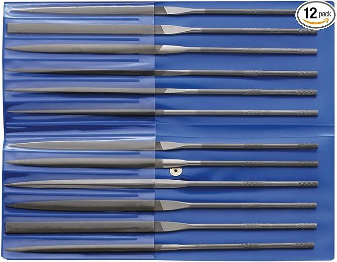 Medium Pferd 5 Piece Needle File Set Diamond Grit 5-1//2 Length