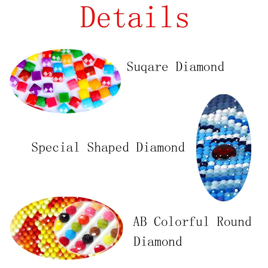 DIY Handwork Store 5D Handmade Full Drill Round Diamond Painting Motorcycle Racer Cross Stitch Embroidery Mosaic Arts Craft Gift Needlework Home Wall Decor 21.65x 15.75