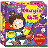 HALO NATION 65 magic Tricks Play Set Magic mantra Brands