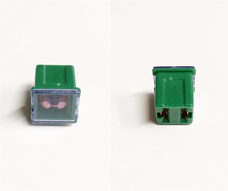 J Case Type Female Fuse 40 Amp Jcase Cartridge Low Profile Car Auto Cable Fuse AutoPower