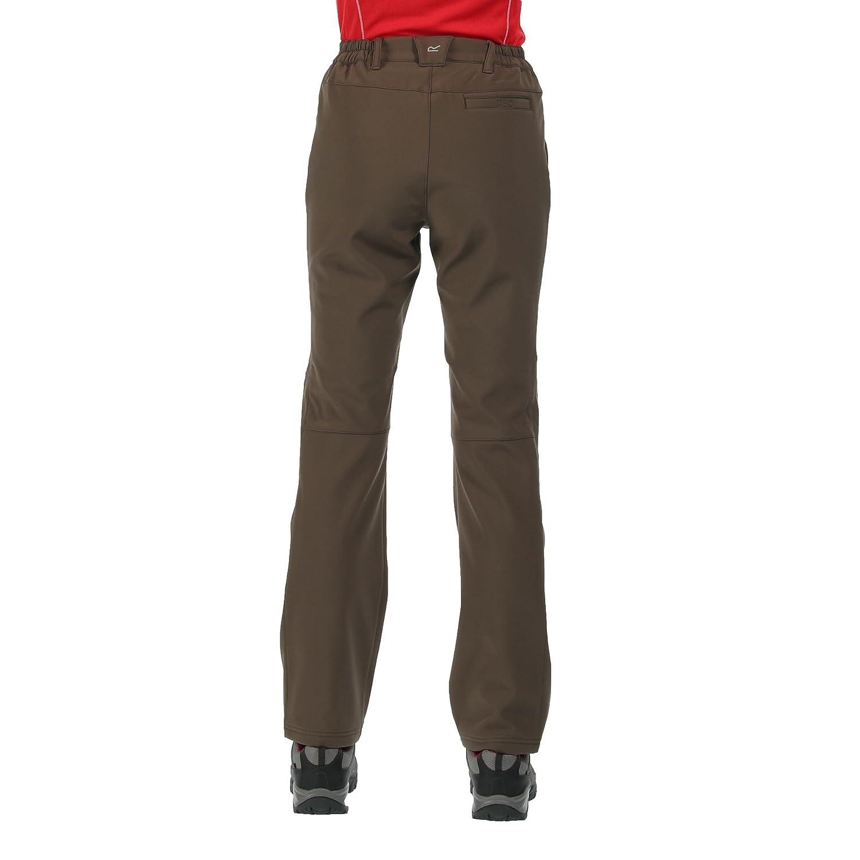 Regatta Fenton Water Repellent and Wind Resistant Softshell Long Leg Pantalons Femme