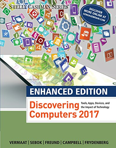 Enhanced Discovering Computers ©2017 (Shelly Cashman Series) cover