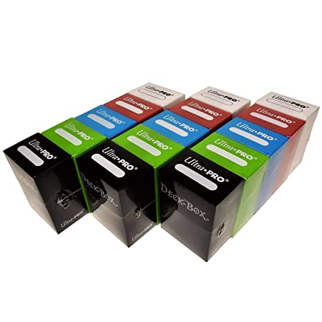 Amazon.com: Ultra Pro Set de 5 cajas de barajas de cartas ...