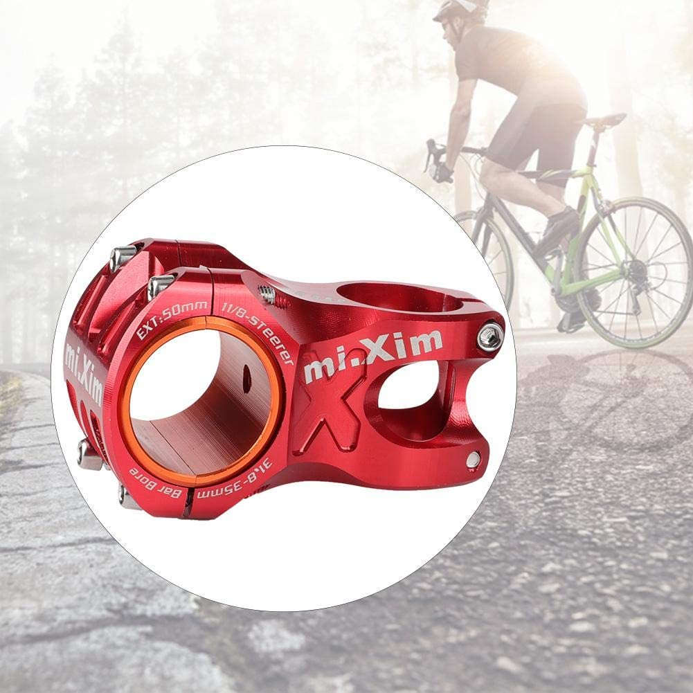 Bike 31.850mm Handlebar Stem Short Stem Handlebar Stem Riser for Mountainbike Road Bike Keen so Moutainbike Short Stem