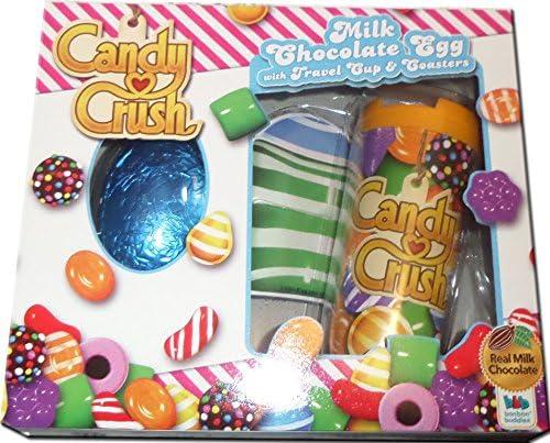 Candy Crush Saga – Chocolate huevo – taza de viaje – Posavasos ...