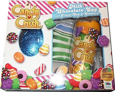 candy crush saga chocolate egg travel cup coasters christmas