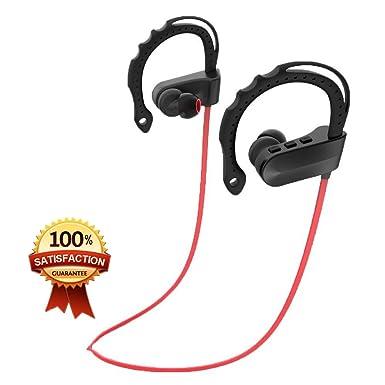 Q12 Auriculares deportivos, newbull inalámbrico Bluetooth 4.1 a Prueba de Sudor Auriculares con micrófono de