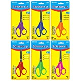 BAZIC 5'' Blunt Tip School Scissors, Box Pack of 24