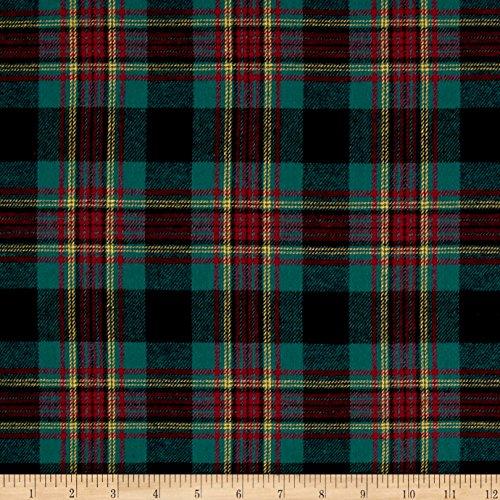 Newcastle Fabrics Yarn Dyed Flannel Sean Multi Fabric by The Yard, Multicolor