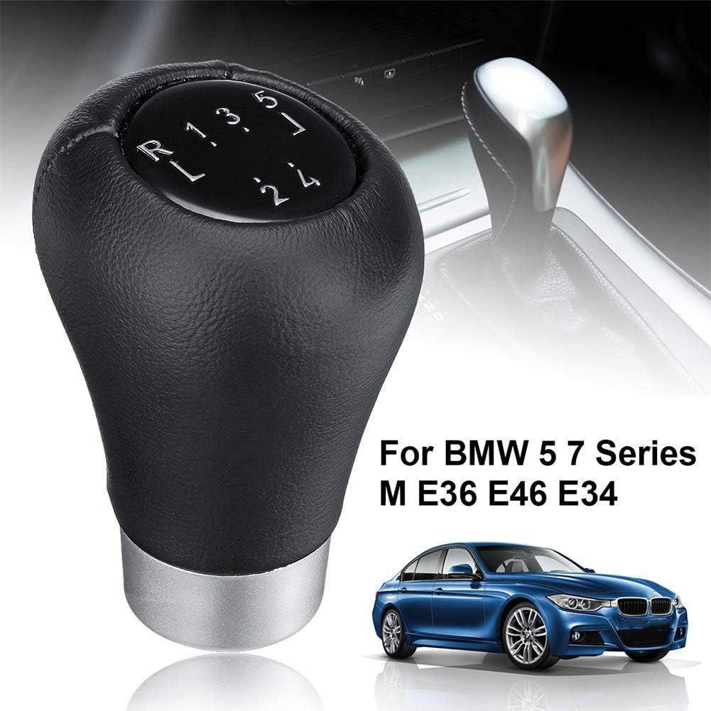 5 Gang Schaltknauf Schalthebel Für BMW 5 7 Series M E36 E46 E34 Schwarz