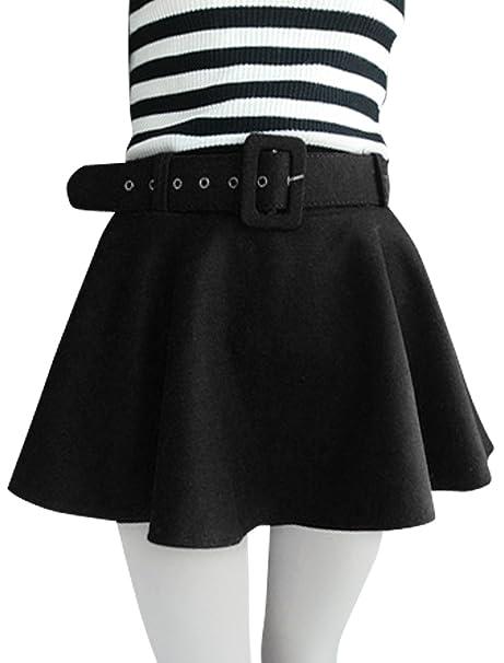 d50a61d1841d Fascia elastica in vita, donna, stile Casual, con gonna con cintura in vita  nero: Amazon.it: Abbigliamento