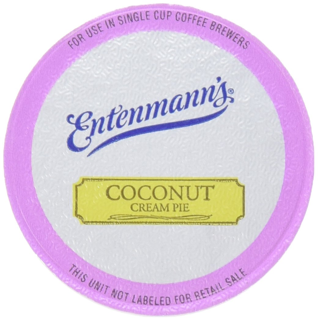 Entenmann's Coconut Cream Pie Coffee Single Serve Cups, 2/10 ct boxes