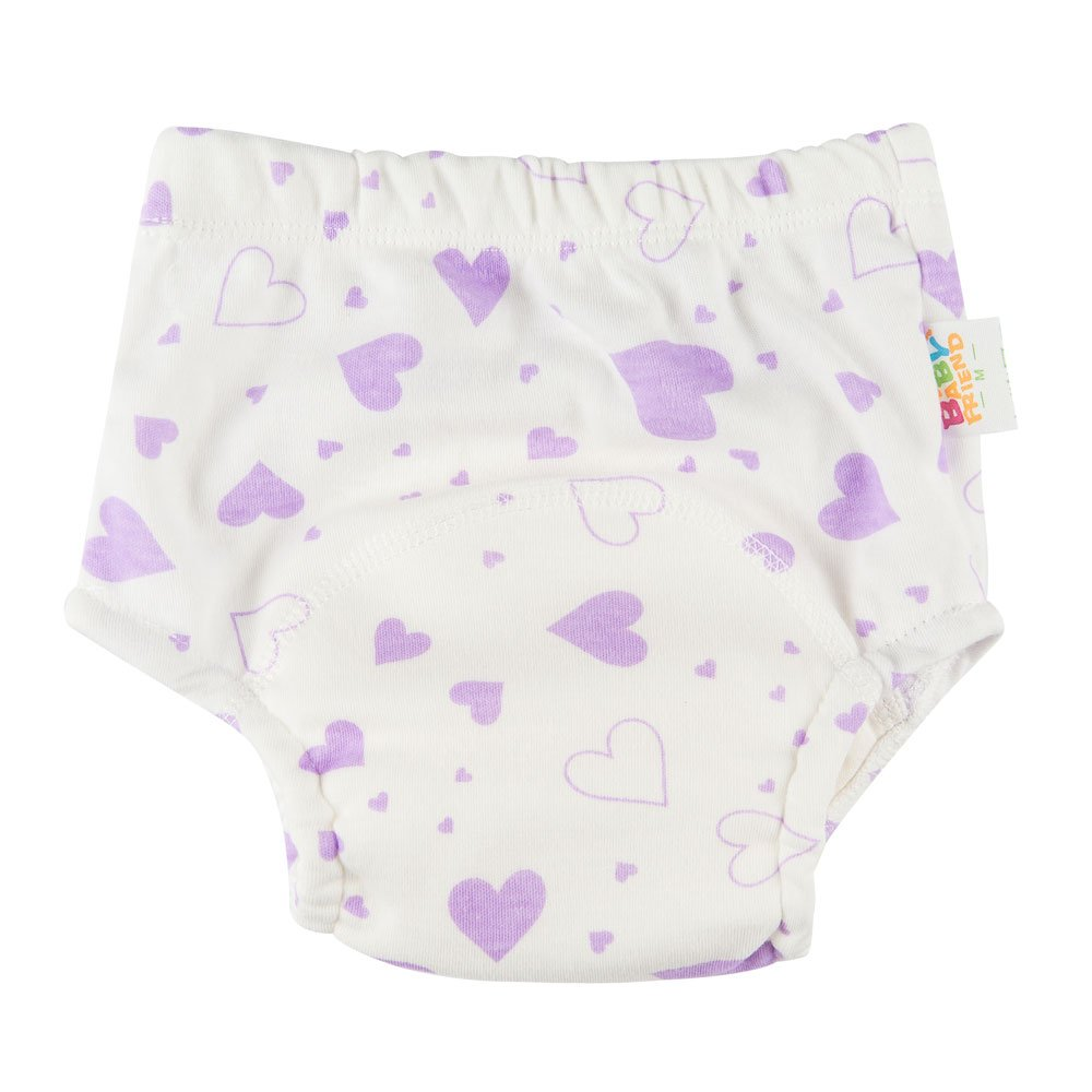 Babyfriend Washable Baby Toddlers Training Pants Reusable Cloth Underwears 5 Pack