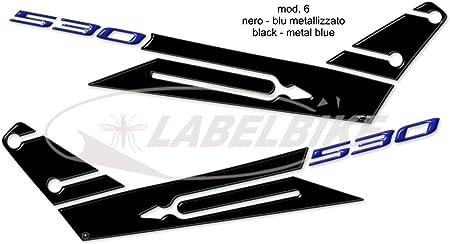 Kit de Pegatinas Resina 3D Yamaha Tmax 530 Boomerang Compatible para T MAX 2012-2016 Negro-Rojo