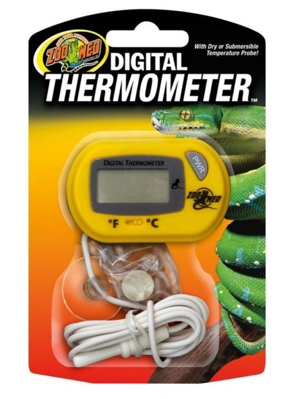 (3 Pack) Zoo Med Digital Terrarium Thermometers by Zoo Med
