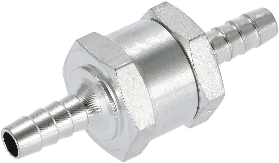 6mm Fuel One Way Valve Petrol Diesel Non Return Check Valve for Carburettor Low Pressure Ruel Systems