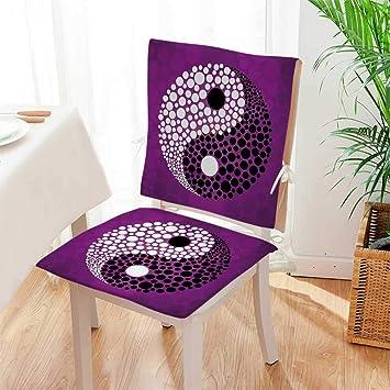 Amazon.com: Mikihome Juego de 2 piezas de cojines para silla ...