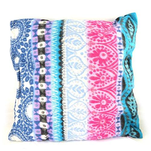 Desigual [M8505] - Creator cushion 'Desigual' pink blue (40x40 cm (0.00''x15.75'')).