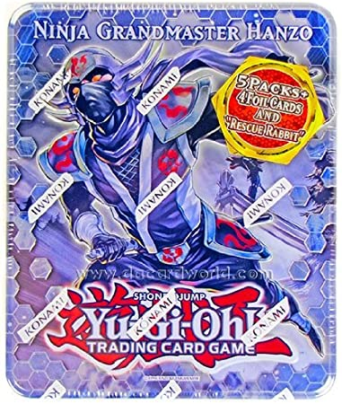 Yu-Gi-Oh! Ninja Grandmaster Hanzo Tin