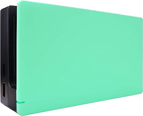 eXtremeRate Protector para Dock de Nintendo Switch Dock Cover Carcasa Accesorios Funda Dock Placa Personalizada Shell de Reemplazo Case para Nintendo Switch Dock-No Incluye Dock(Menta Verde): Amazon.es: Electrónica