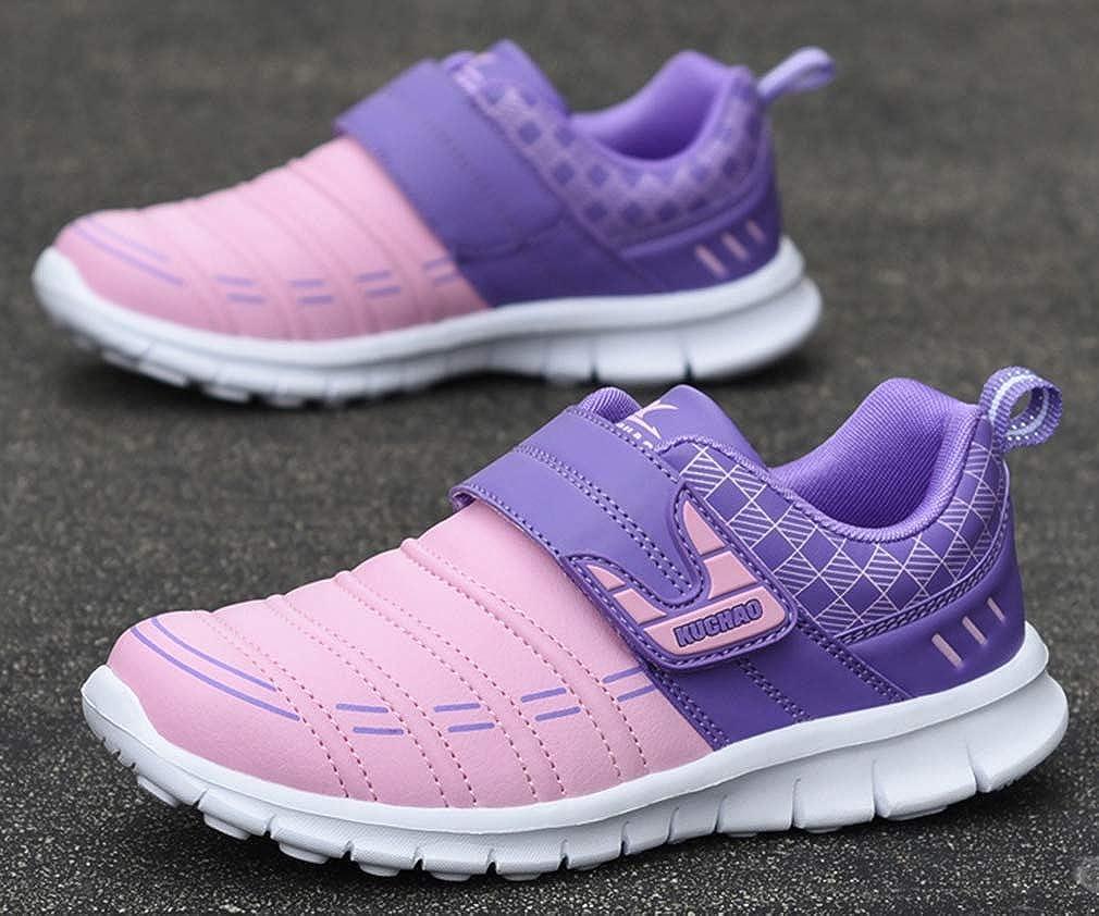 VECJUNIA Girls Casual Sports Shoes Nonslip Sneakers School Uniforms