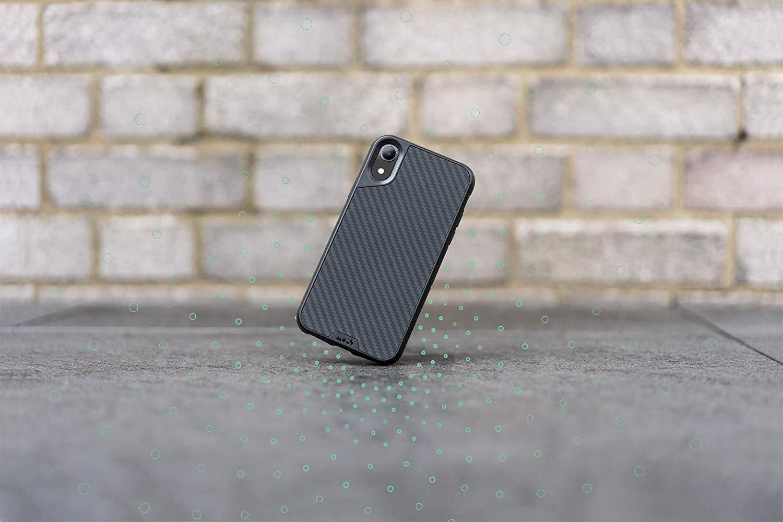 Mous Protective iPhone XR Case - Aramid Carbon Fiber - Screen Protector Inc.