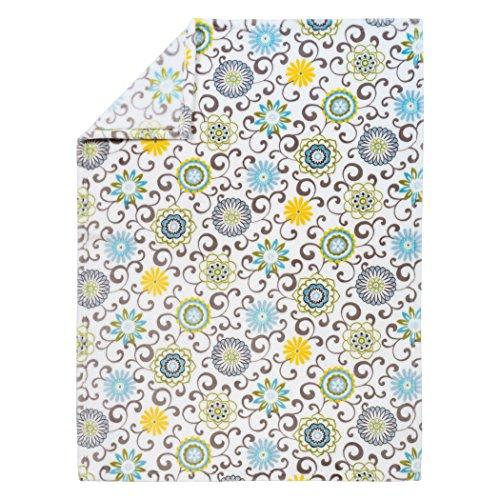 Trend Lab Plush Baby Blanket, Multi Waverly Pom Pom Spa by Trend Lab (Image #3)