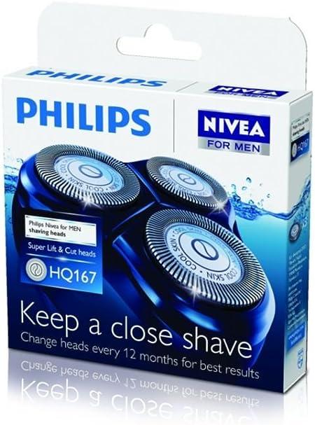 Philips HQ167/50 - Cabezales para afeitadora Cool Skin Serie 6700 ...