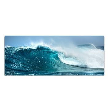 Glasbild Sound of the ocean WANDDEKO 4mm ESG Sicherheitsglas Deko