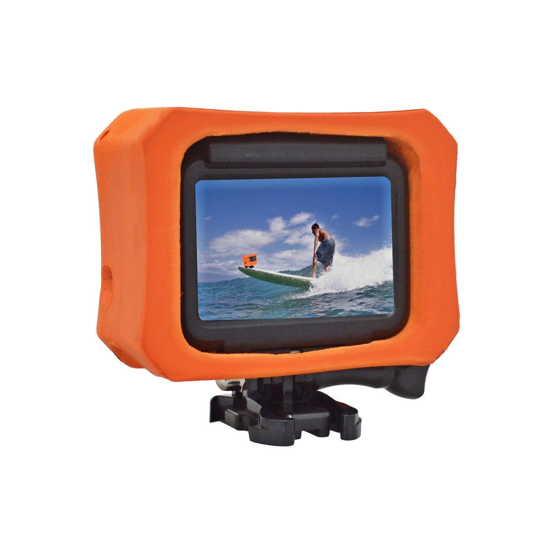 Makit Floaty Case, Orange for GoPro Hero 6, Hero 5 Black and Hero 2018