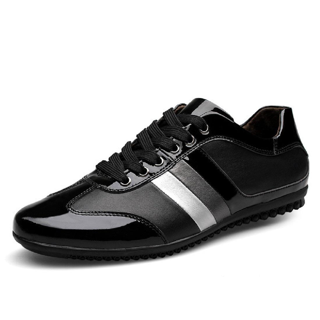 Herren Freizeit Lederschuhe Mode Flache Schuhe Schuhe Schuhe Niedrige Schuhe Große Größe Lässige Schuhe EUR GRÖSSE 38-45 1303ed