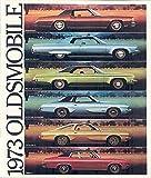 1973 omega - 1973 Oldsmobile Full Line Brochure Cutlass 88 98 Omega