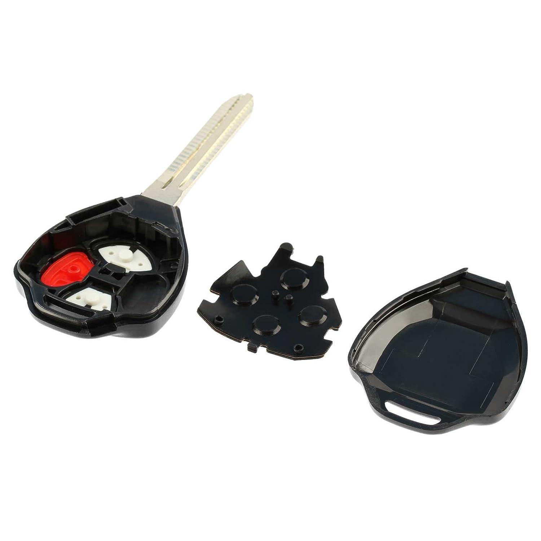 USARemote HYQ12BBY, GQ4-29T, MOZB41TG Key Fob Keyless Entry Remote Shell Case /& Pad fits Toyota 4Runner Matrix Rav4 Venza Yaris//Scion iQ tC xB xD