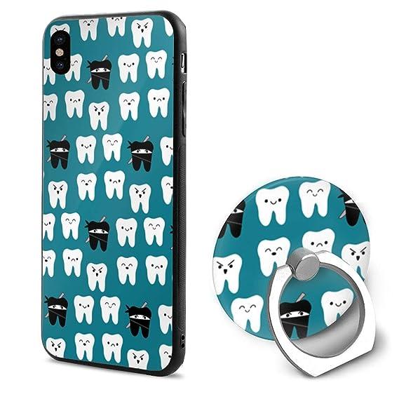 Amazon.com: Ninja Teeth PC iPhone X Mobile Phone Case with ...