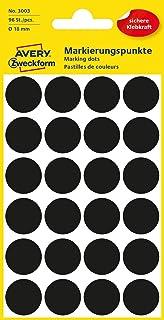 insg. 288 Punkte 3 Stück AVERY Zweckform Markierungspunkte Ø 18 mm GRÜN