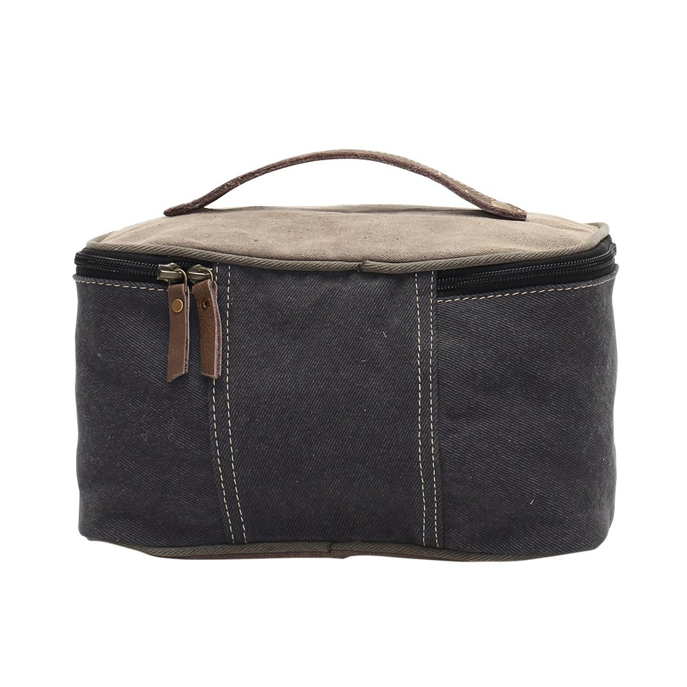 Sav On Bags >> Amazon Com Myra Bag Savon Figaro Denim Upcycled Canvas Shaving