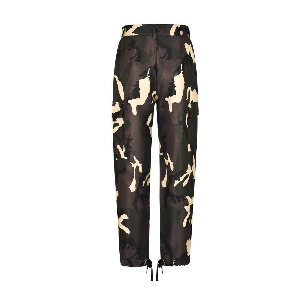 Donna Fashion Sciolto Militari Hop Stile Hip Pantaloni rn4RWxPr