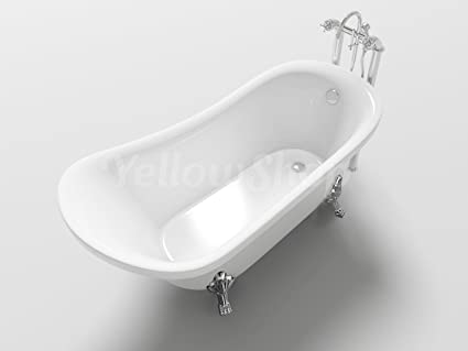 Yellowshop vasca vasche da bagno con piedini freestanding