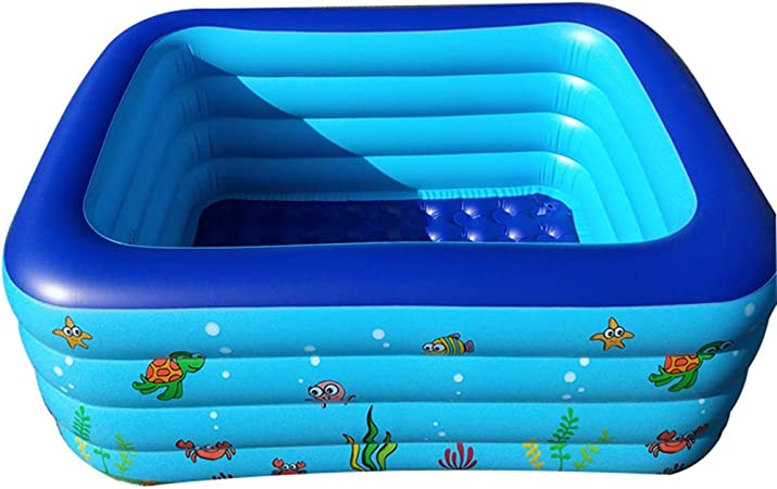 FXMJ Piscina Hinchable, Piscina Inflable Familiar, Centro de ...