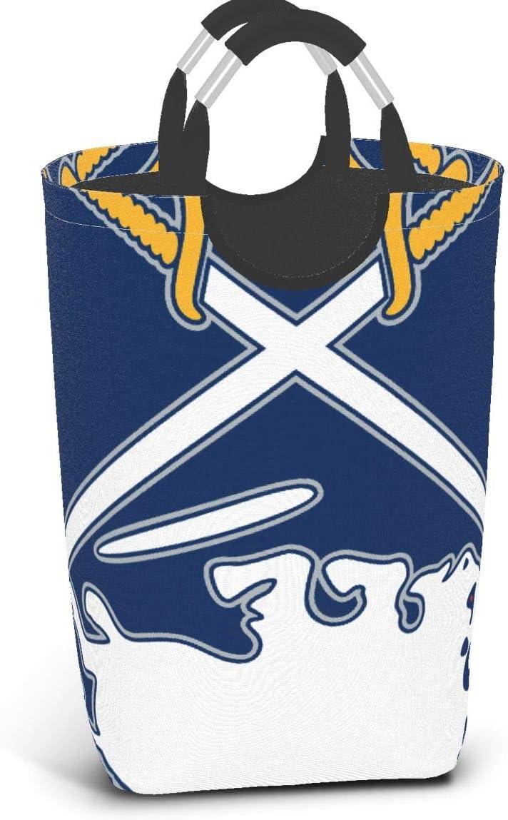 MINGBUXIUGANG Sabres - Buffalo Logo Mashup Collapsible Basket Storage Pack Dirty Clothes Basket