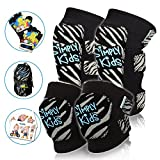 Innovative Soft Kids Knee and Elbow Pads With Bike Gloves | Toddler Protective Gear Set | Comfortable Breathable Safe | Roller-Skate, Skateboard, Rollerblade, BMX Knee Pads for Children Boys and Girls