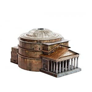 Clever Paper Innovative 3D-Puzzles - The Panteon in Rome (Italy) - Historical Buildings Series (444)