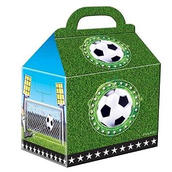 4 bolsas de fiesta * Balones de Fútbol * DE cartón para ...