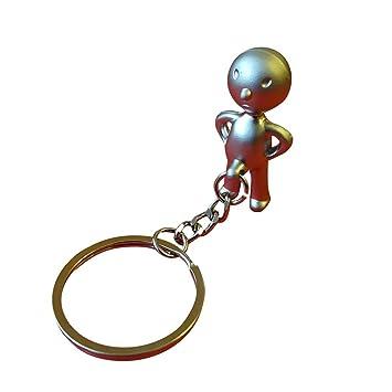Amazon.com : Metal Keyring Urinal Boy Silver (Pack of 2 ...