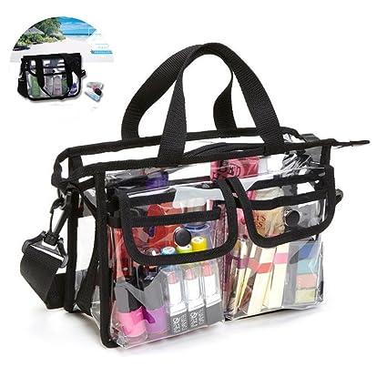 Aolvo - Bolsa de aseo transparente, bolsa de viaje para ...