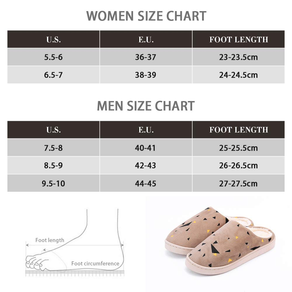 WILLIAM&KATE Home Slippers Ultra Lightweight Indoor Flat Closed Toe Slippers Anti-Slip Slippers Soft Cozy & Washable Shoes by WILLIAM&KATE (Image #7)