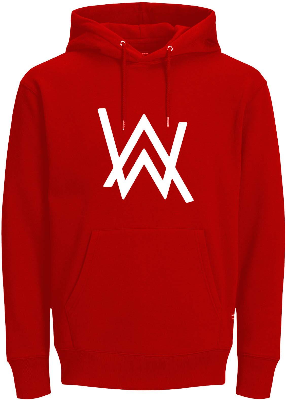 ABSOLUTE DEFENSE Alan Walker Hoodie for Men Women Casual Sweatshirt Regular fit Winter Jacket Boy Girl Hoodie (Red, Small) (B07YZJRDBH) Amazon Price History, Amazon Price Tracker